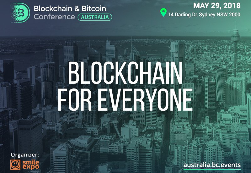 Adglink sponsored Blockchain & Bitcoin Conference Australia