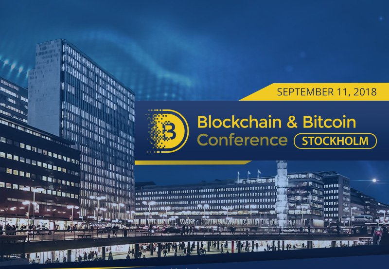 Adglink partnered up with Blockchain & Bitcoin Conference Stockholm
