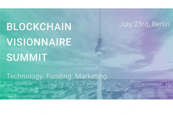We partnered up with Blockchain Visionnaire Summit